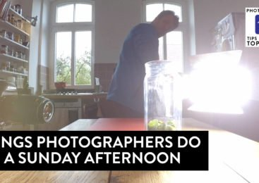 Things photographers do on a Sunday afternoon