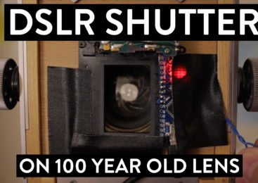 The DSLR Shutter and the 100 Year Old Lens